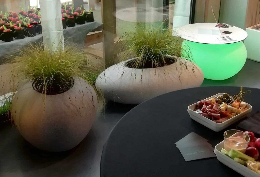 MiStorus rivierkeien in showroom All Green